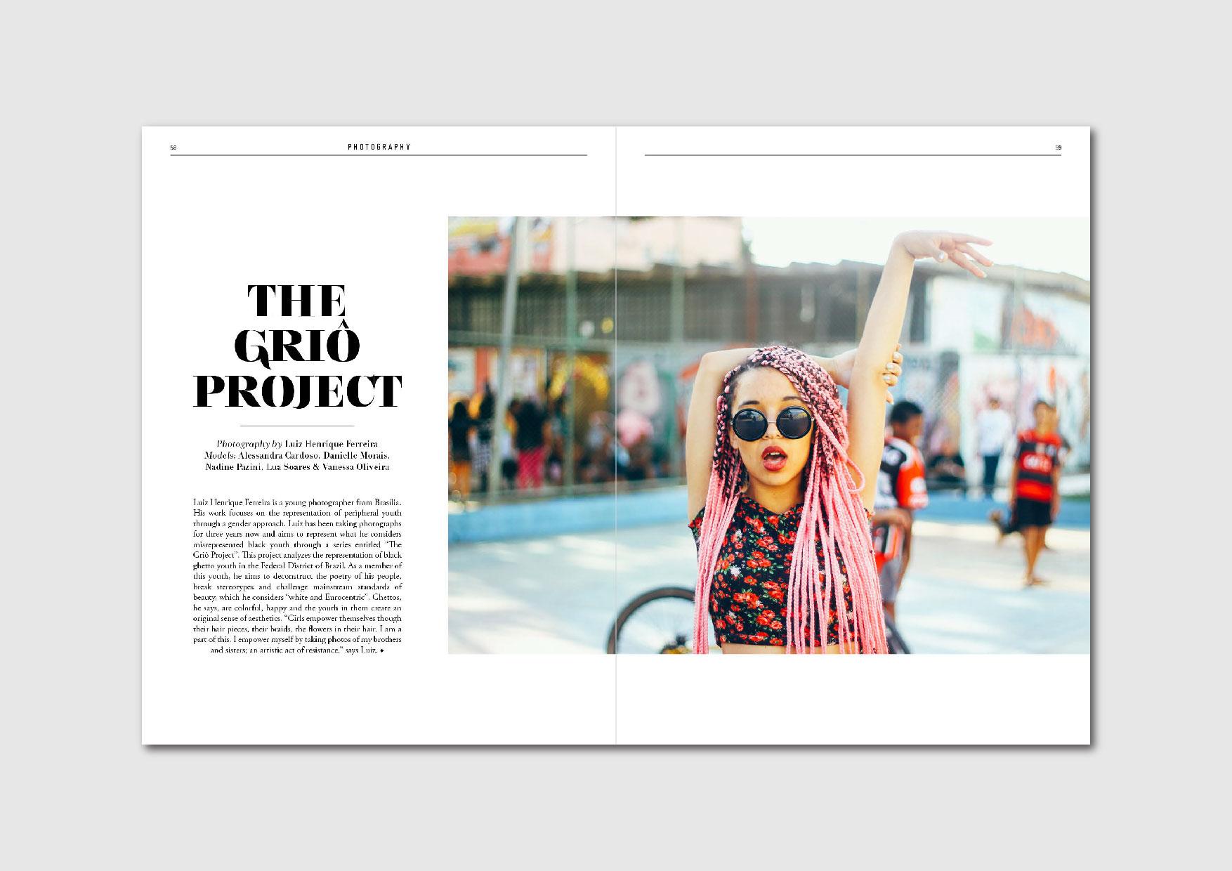The Griô Project:  photo series by Luiz Henrique Ferreira