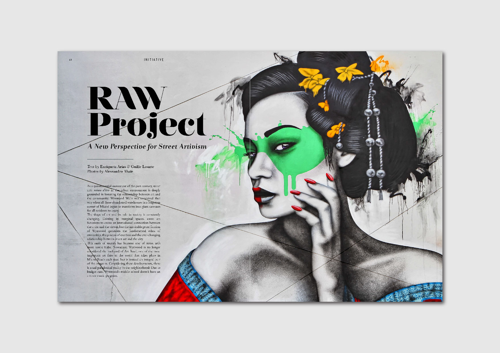 "T he RAW Project:  getting to know the street artivism initiative ""Re-Imagining the Arts in Wynwood"""