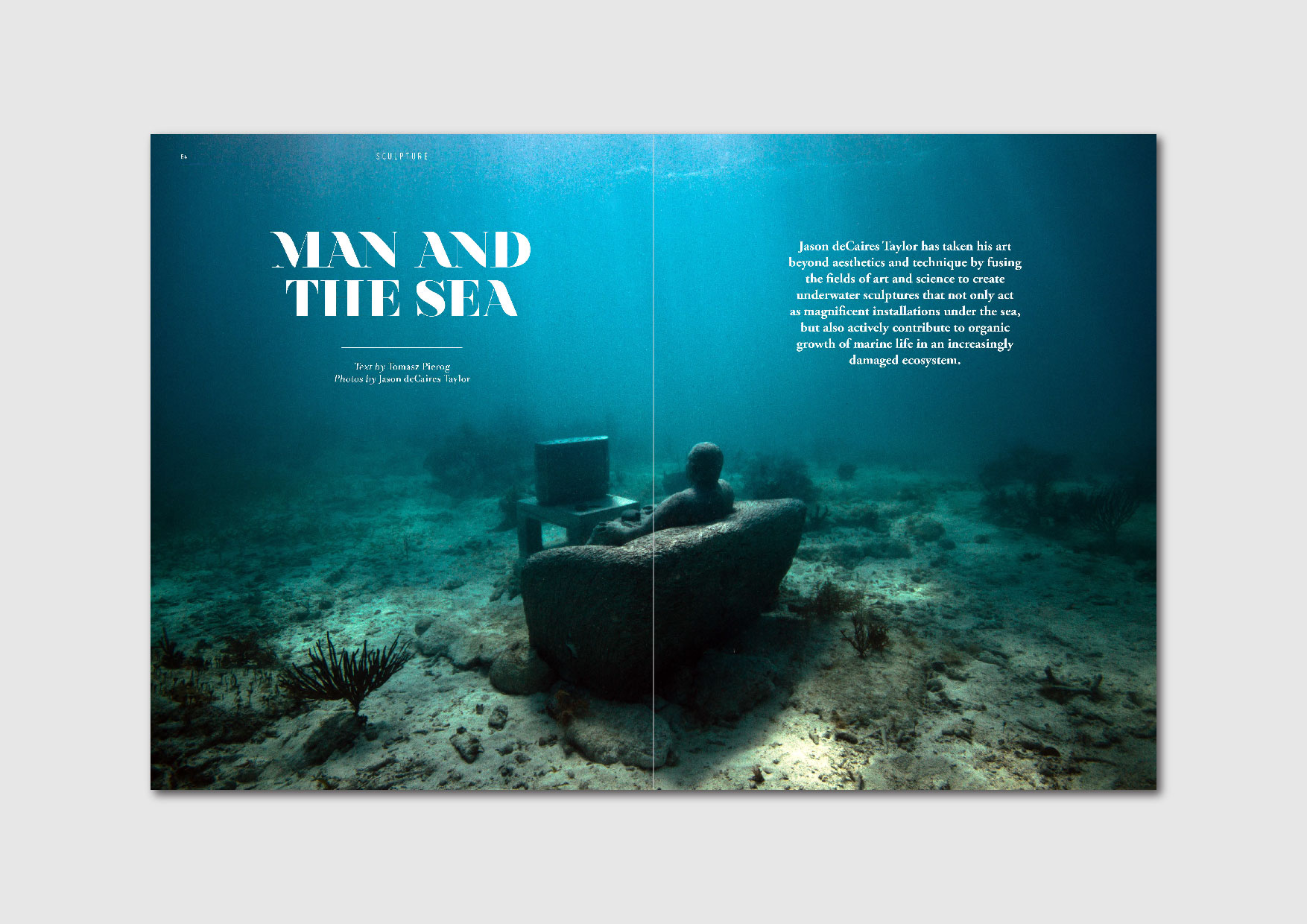 Man and the Sea: into the fascinating underwater art world of Jason deCaires Taylor