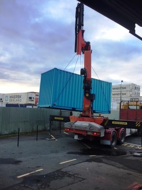 Unloading the Workbox