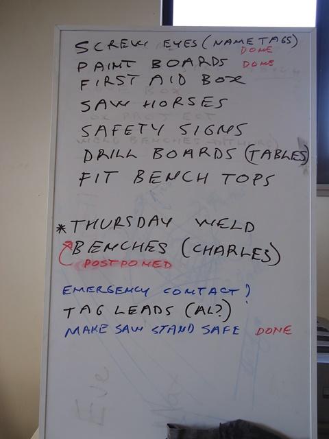 White Board Update