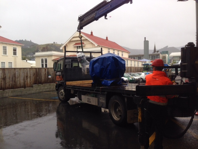 Lathe Delivery