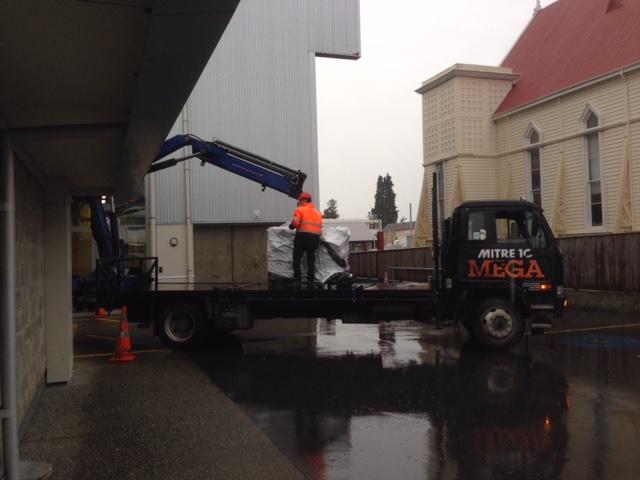 Mitre 10 Mega truck loan