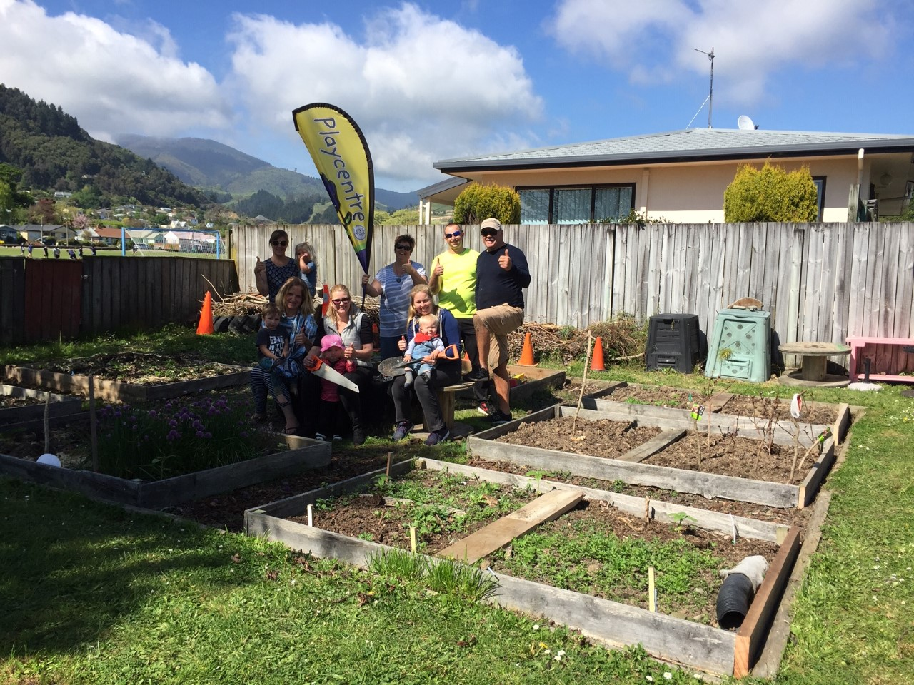 Victory Community Centre Raised Beds