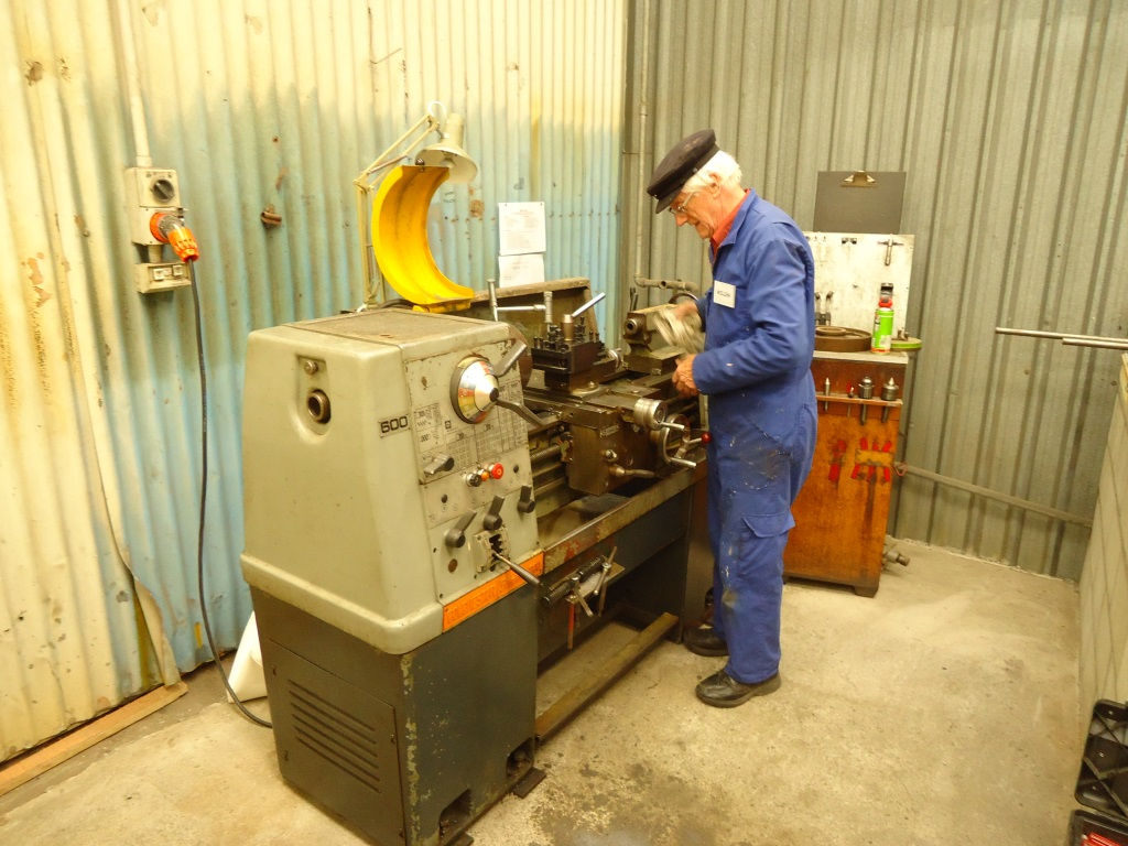 Willem, master metal worker.