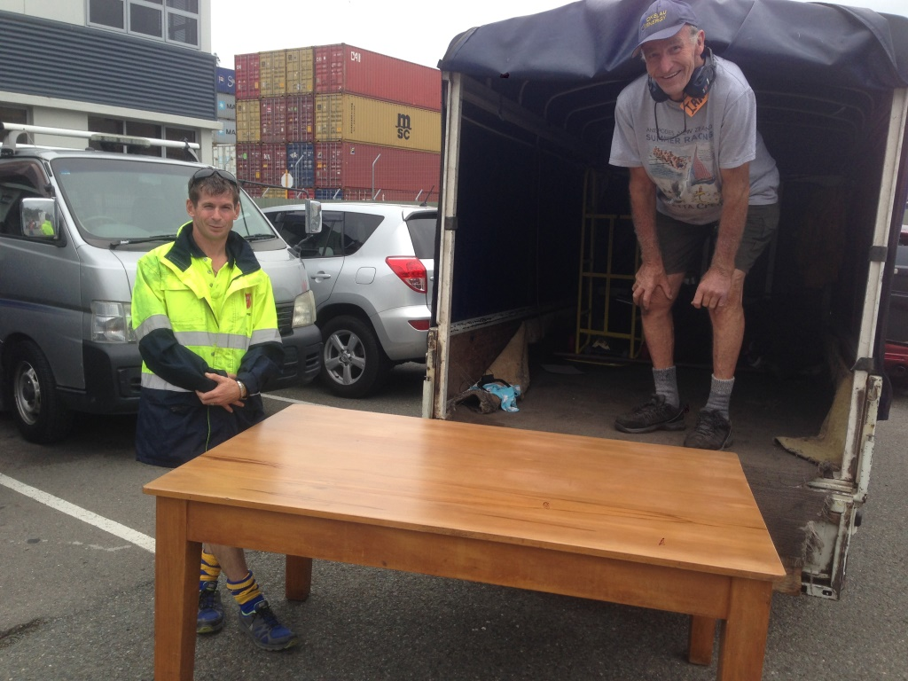 Re-furbished table for Sally Army