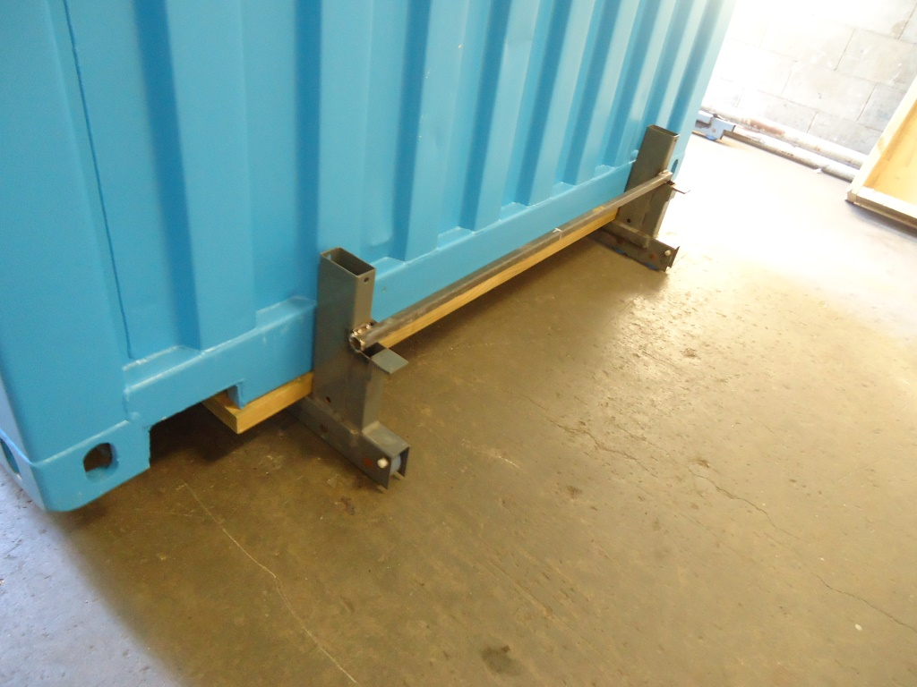 Work Box rolls in on custom roller.