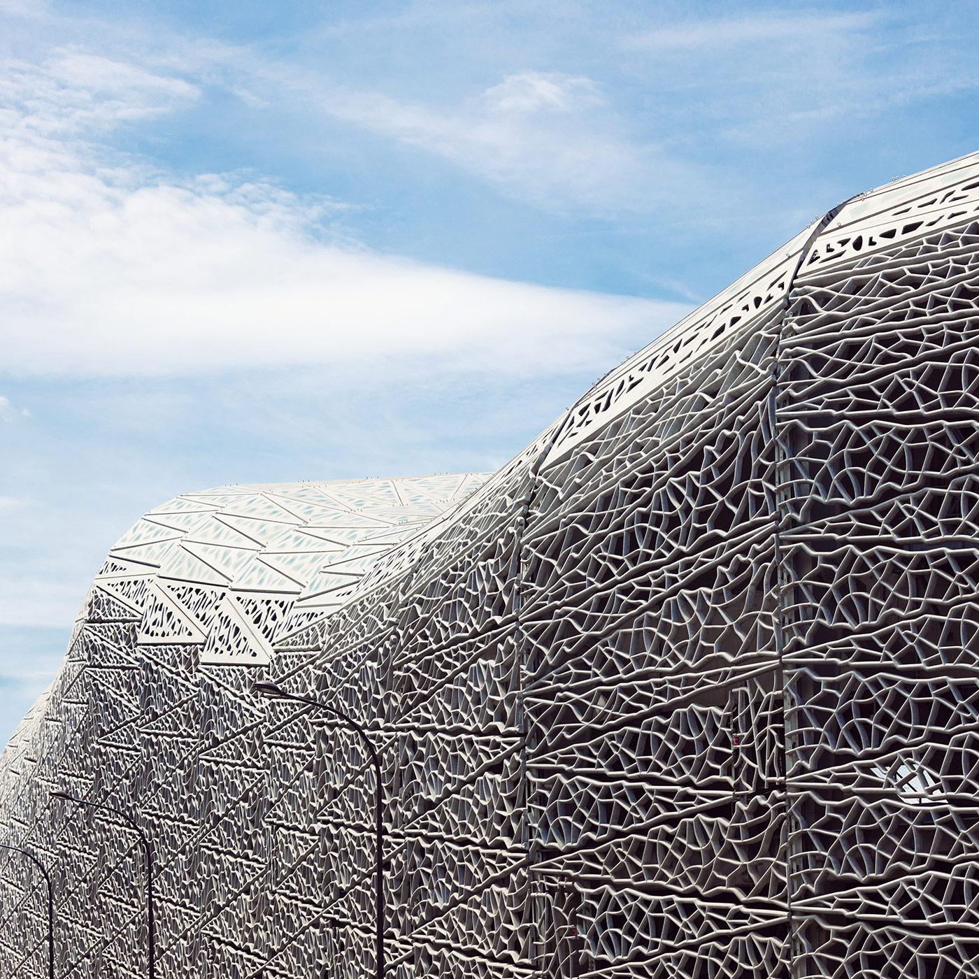 Stade Jean-Bouin <br />Location: Paris, France <br />Architects: Rudy Ricciotti