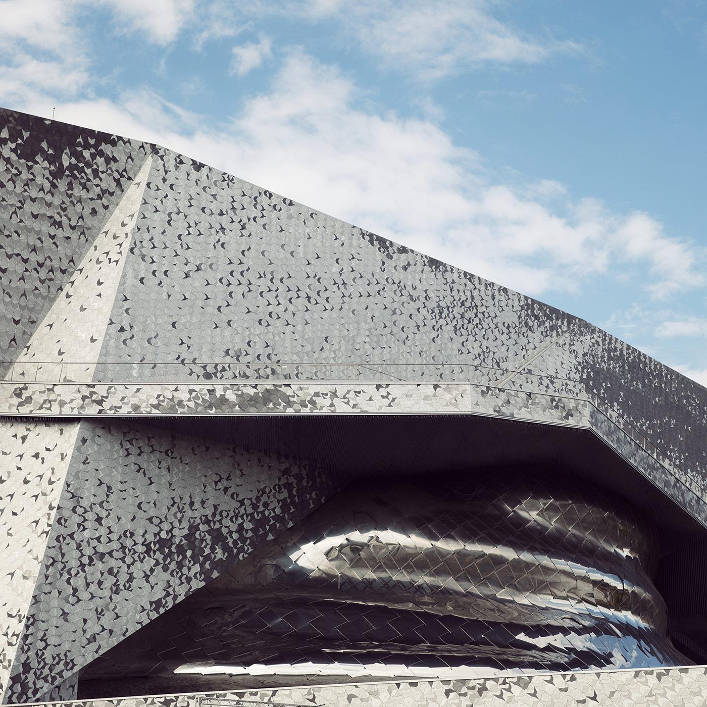Cité de la musique - Philharmonie de Paris <br />Location: Paris, France <br />Architect: Jean Nouvel<br />