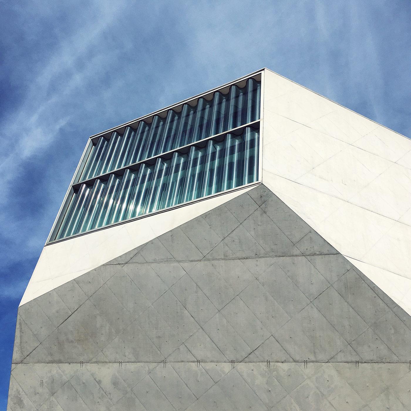 Casa da Música <br />Location: Porto, Portugal <br />Architects: OMA (Rem Koolhaas & Ellen Van Loon)