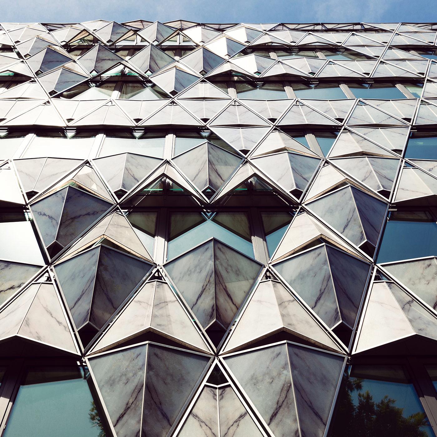 Origami Building <br />Location: Paris, France <br />Architect: Manuelle Gautrand Architecture