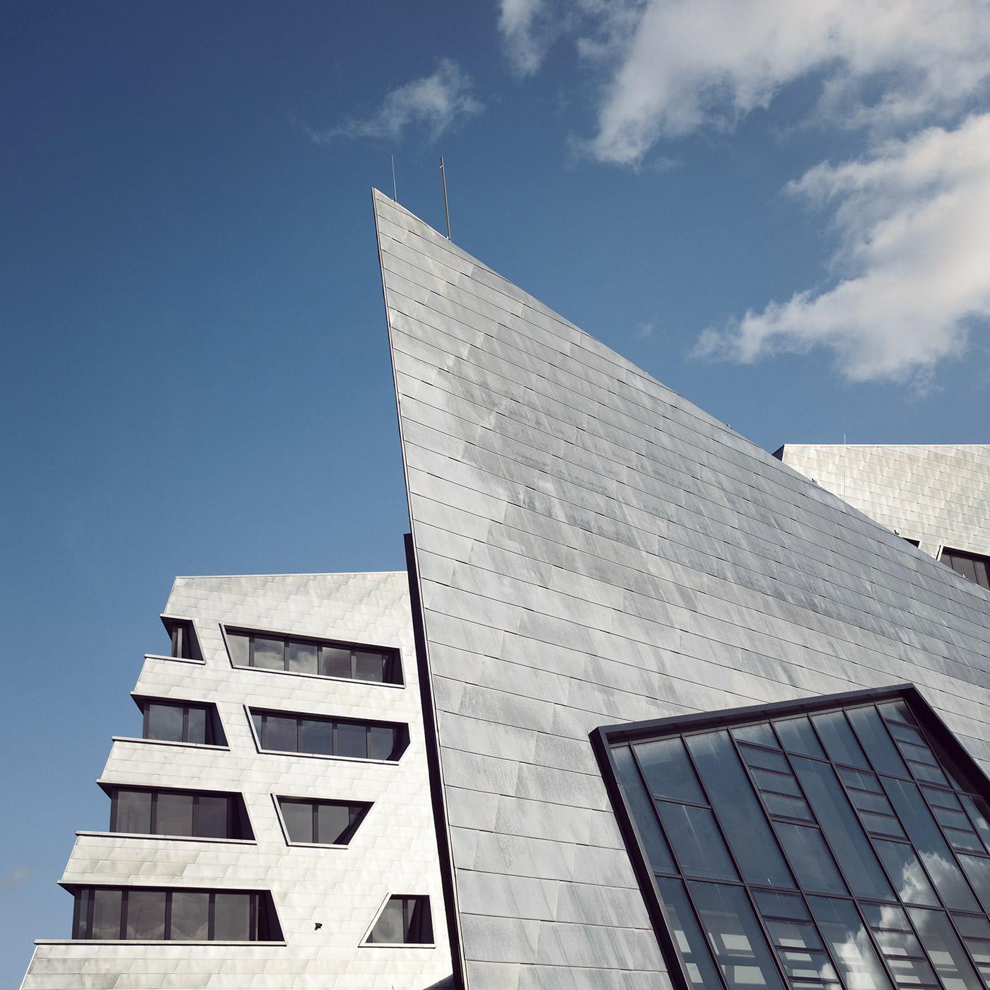 Leuphana University of Lüneburg <br />Location: Lüneburg, Germany <br />Architects: Daniel Libeskind
