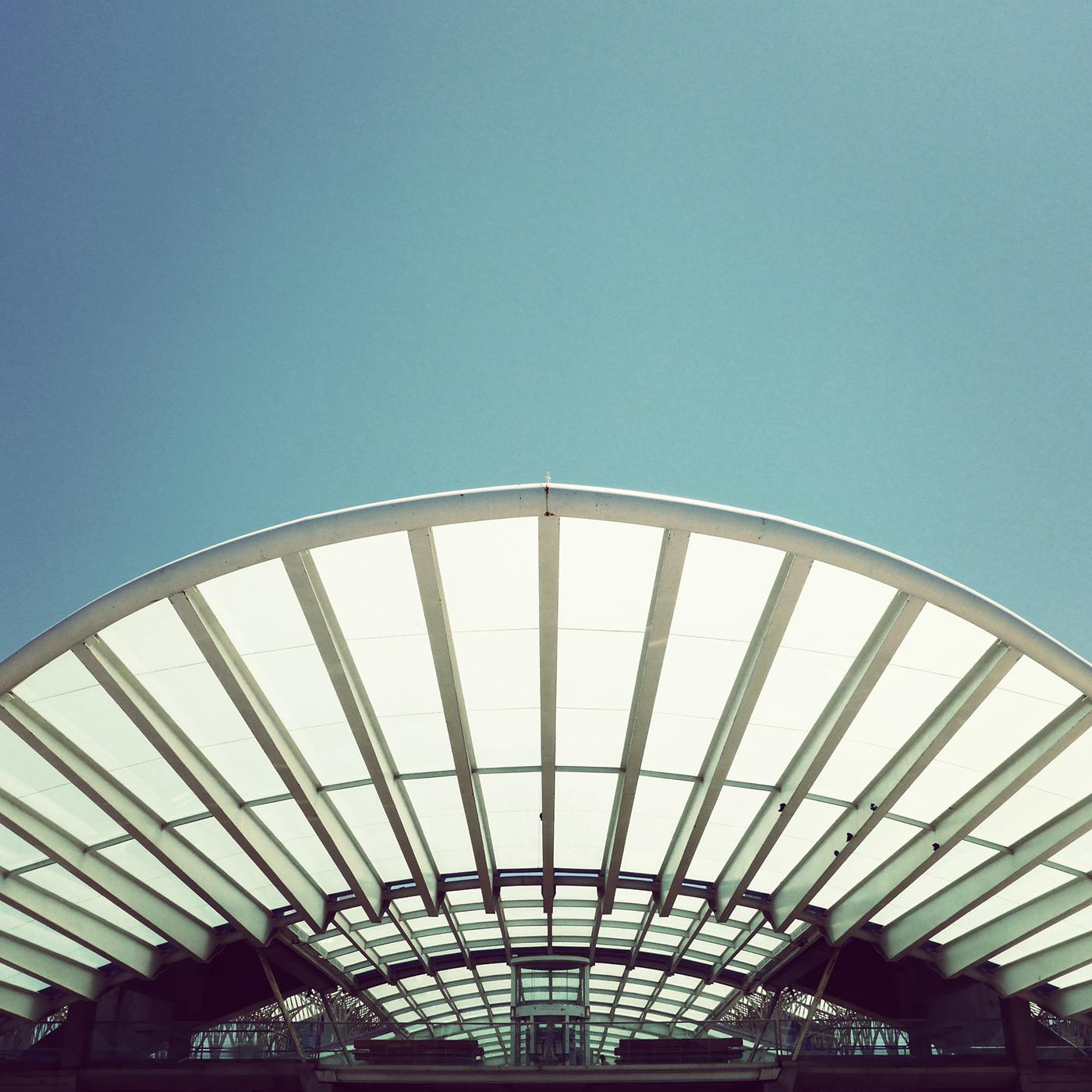Estação do Oriente <br />Location: Lisbon, Portugal <br />Architect: Santiago Calatrava