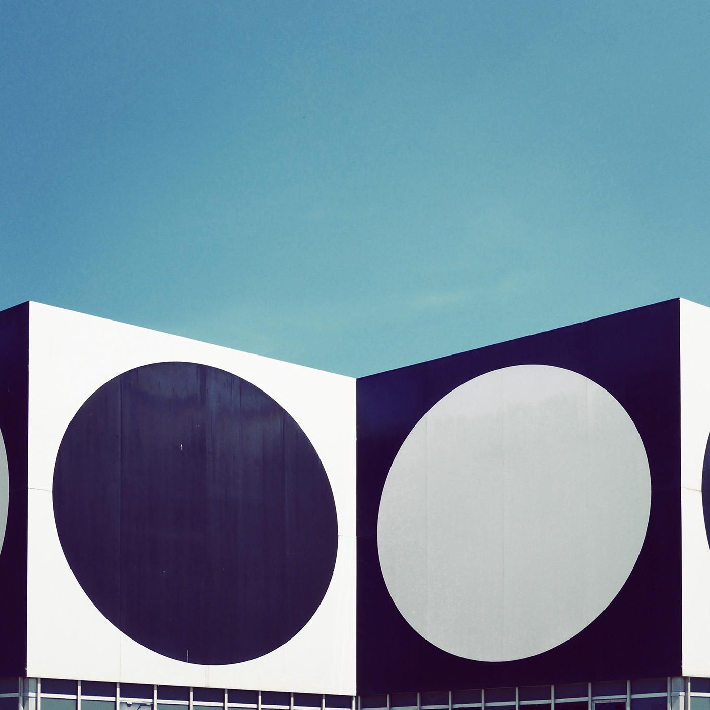 Fondation Vasarely <br />Location: Aix en Provence, France <br />Architects: John Sonnier, Dominique Ronsseray