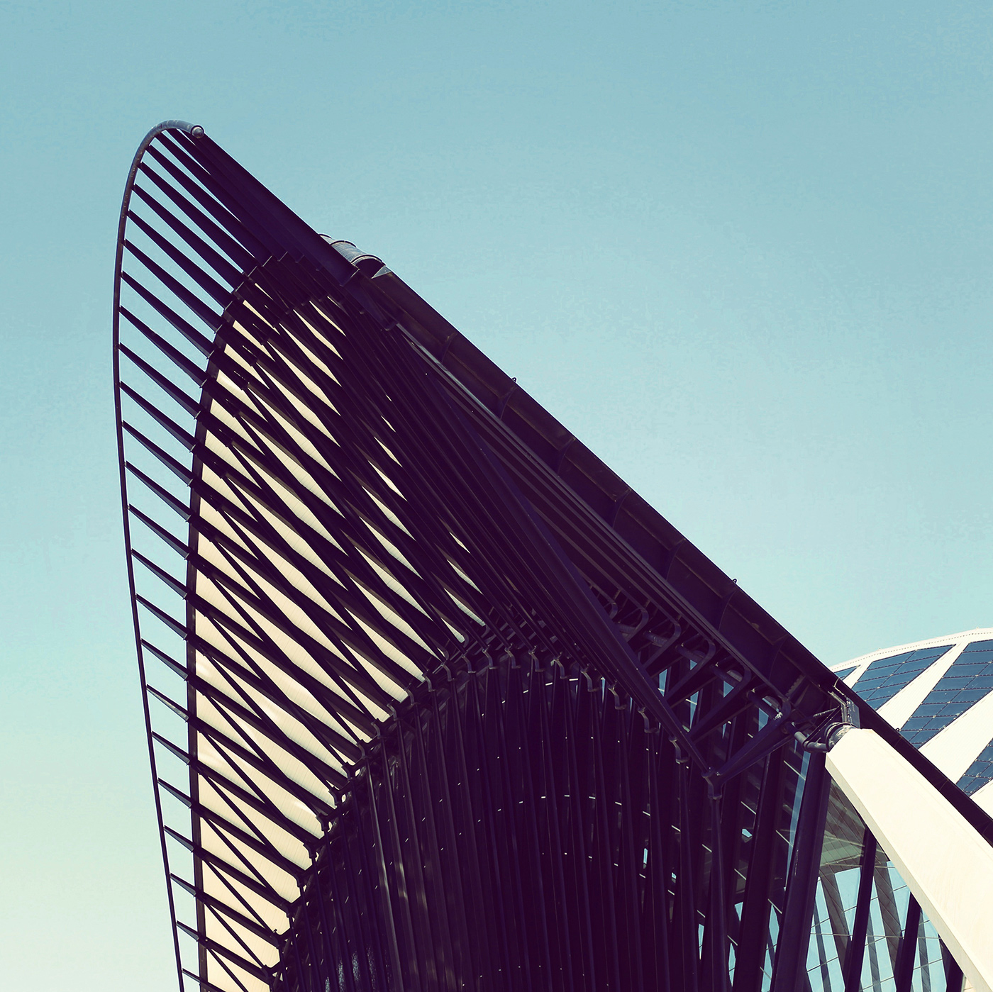 Gare de Lyon Saint-Exupéry <br />Location: Lyon, France <br />Architect: Santiago Calatrava