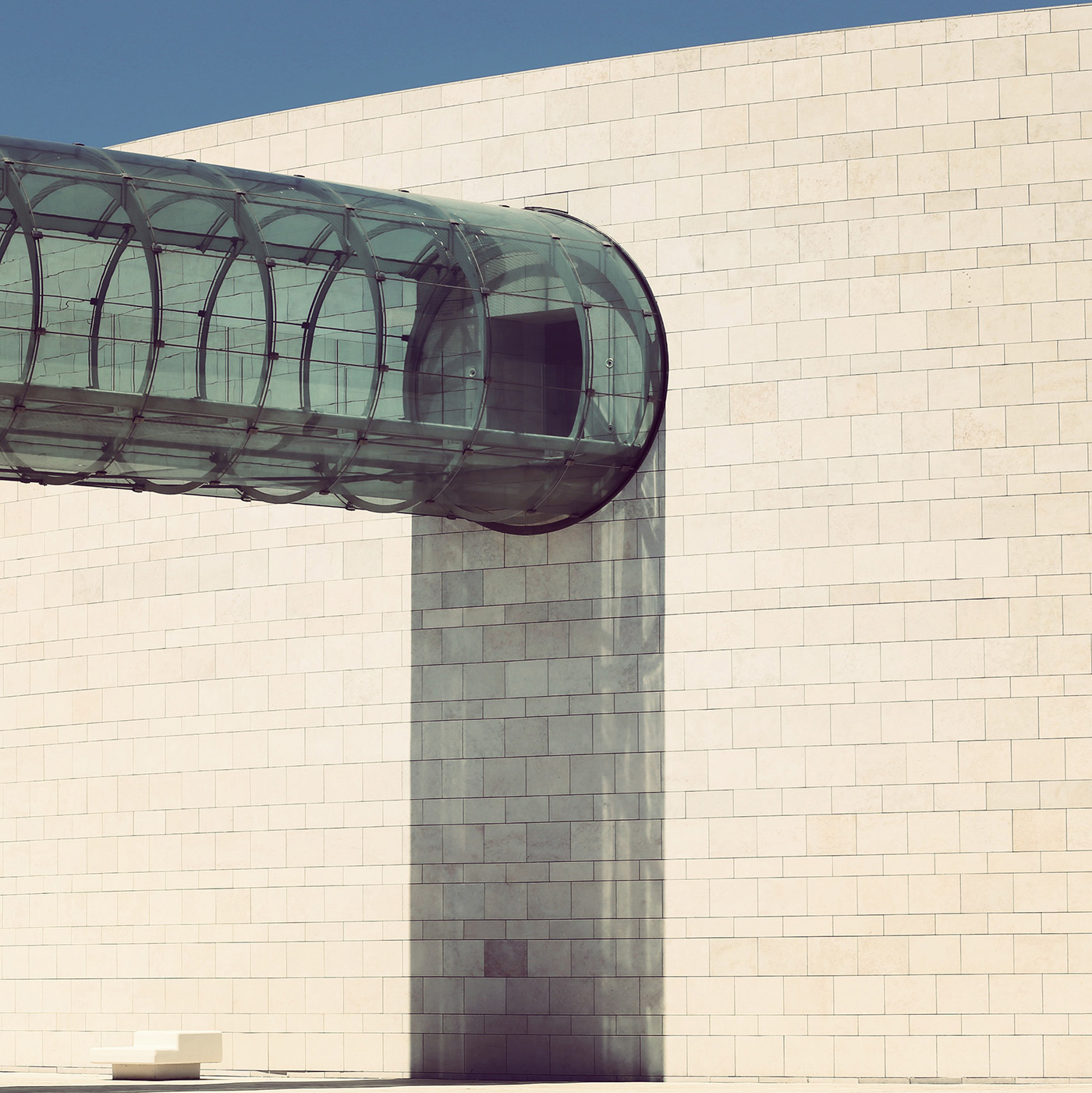 Champalimaud Center for the Unknown <br />Location: Lisbon, Portugal <br />Architect: Charles Correa Associates