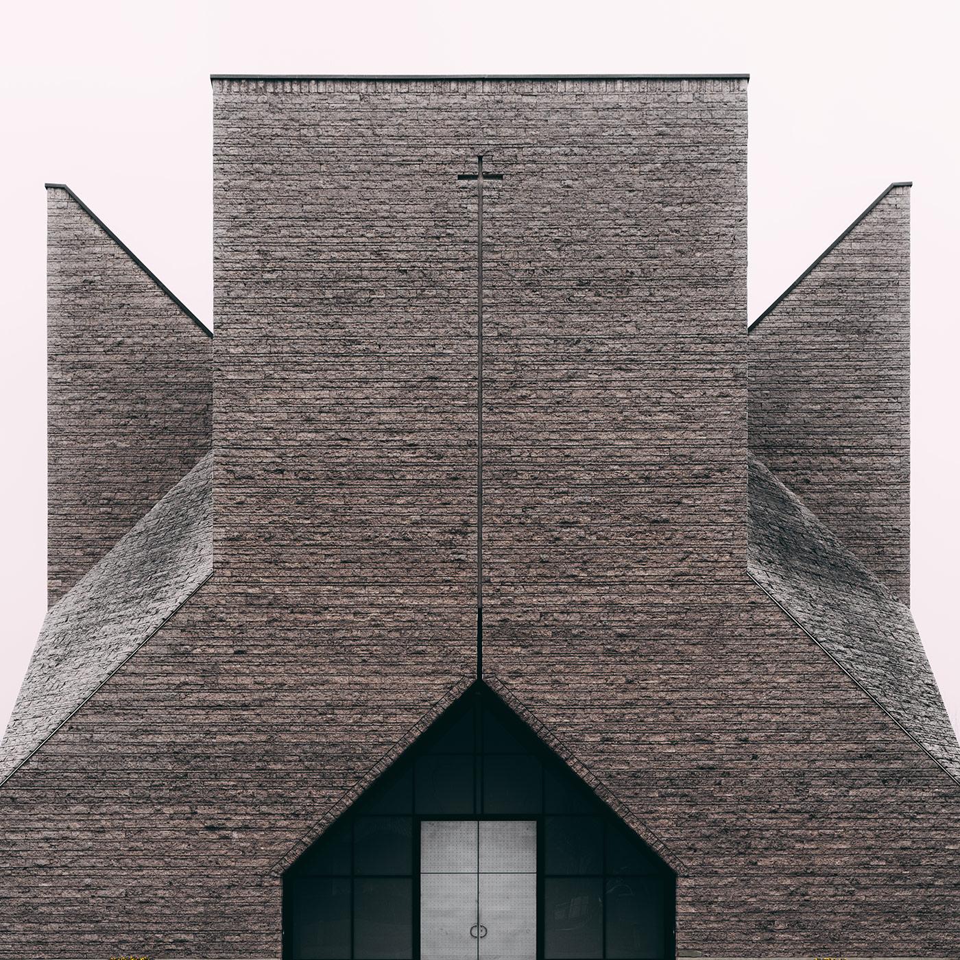 Centro pastorale Giovanni XIII <br />Location: Bergamo, Italy <br />Architect: Botta Mario