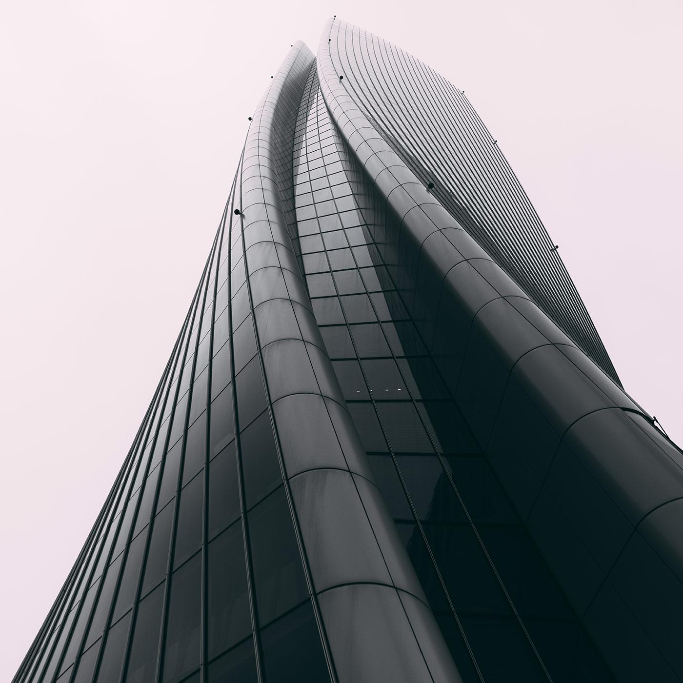 La torre Hadid, CityLife <br />Location: Milan, Italy <br />Architect: Zaha Hadid