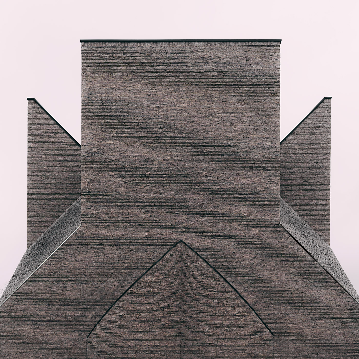 Centro pastorale Giovanni XIII <br />Location: Milan, Italy <br />Architect: Botta Mario
