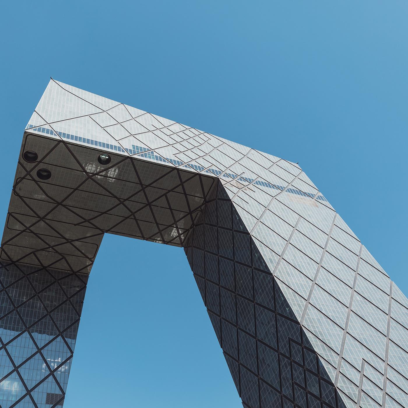 CCTV Headquarters . Location: Beijing, China . Architect: OMA