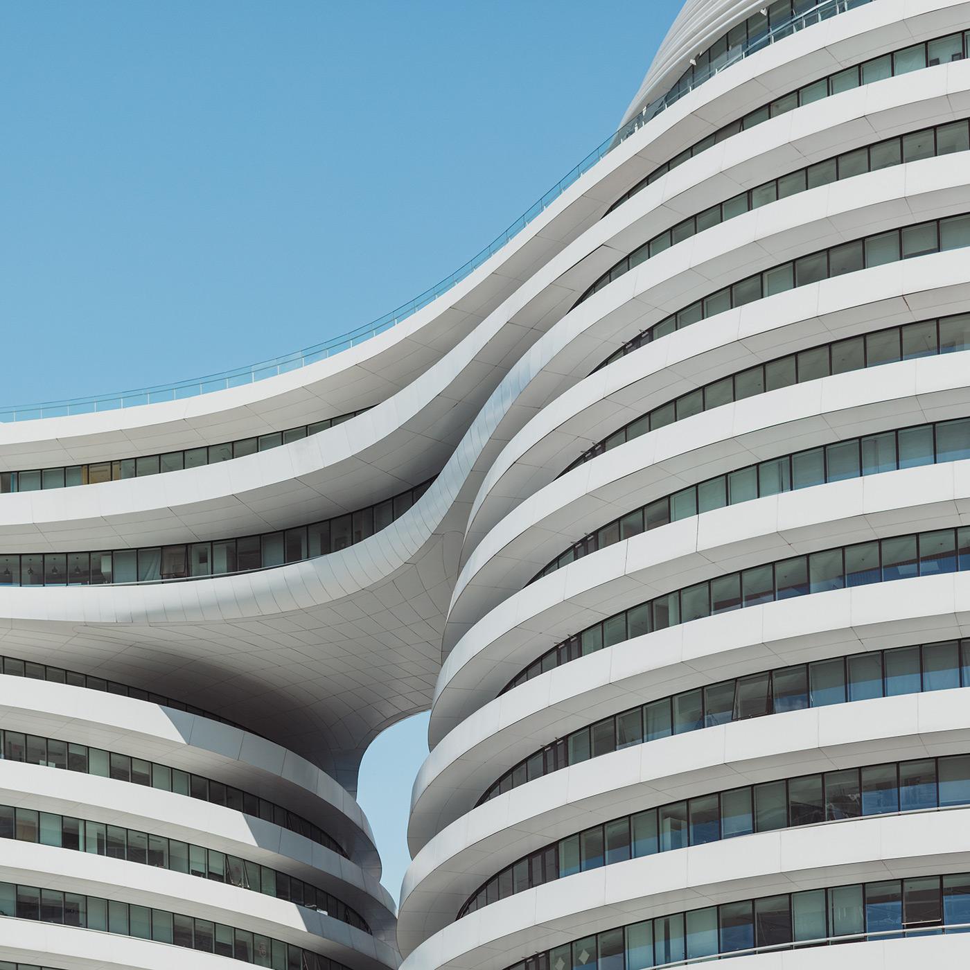 Galaxy SOHO . Location: Beijing, China . Architect: Zaha Hadid Architects