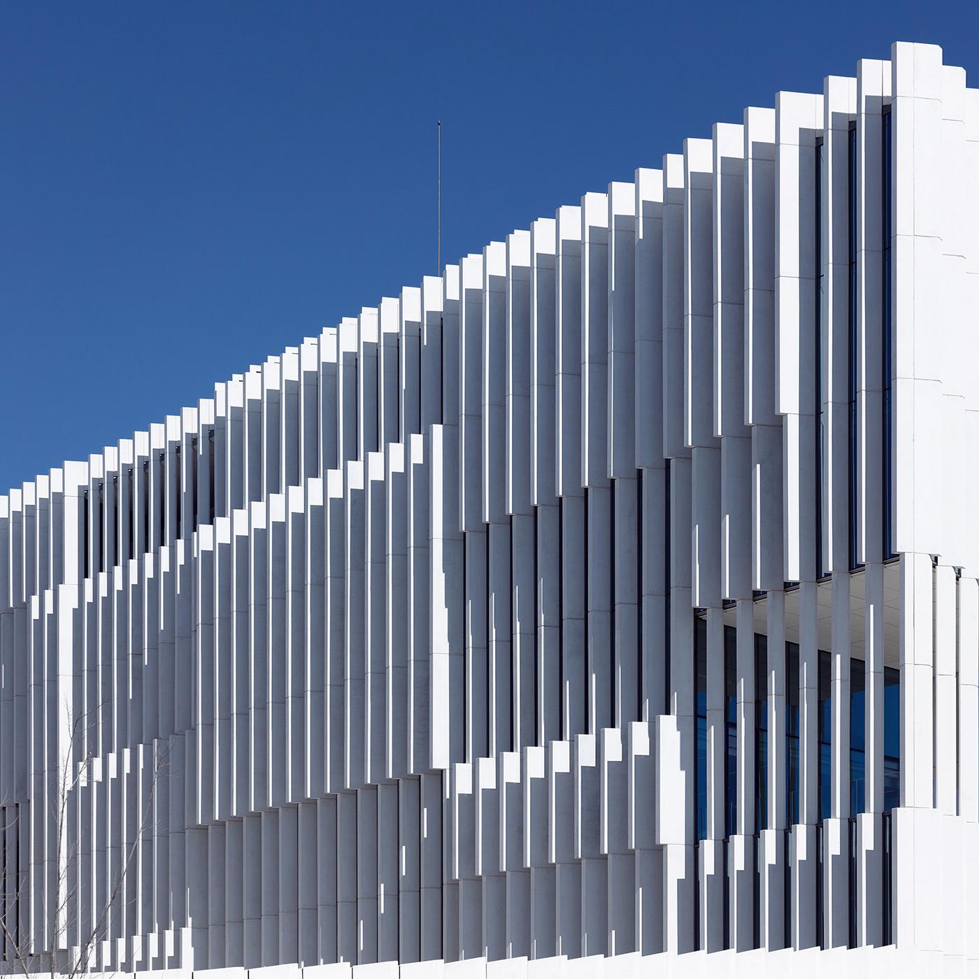 EDP Headquarters . Location: Lisbon, Portugal . Architect: Aires Mateus