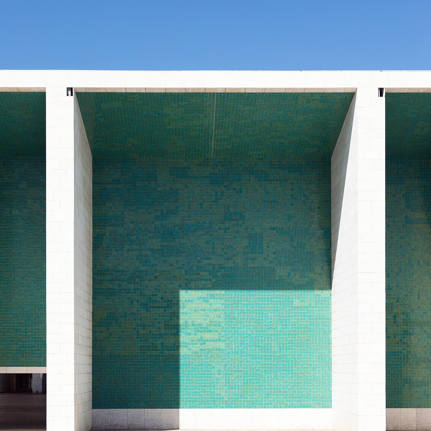 Expo'98 Portuguese National Pavilion . Location: Lisbon, Portugal . Architect: Álvaro Siza Vieira