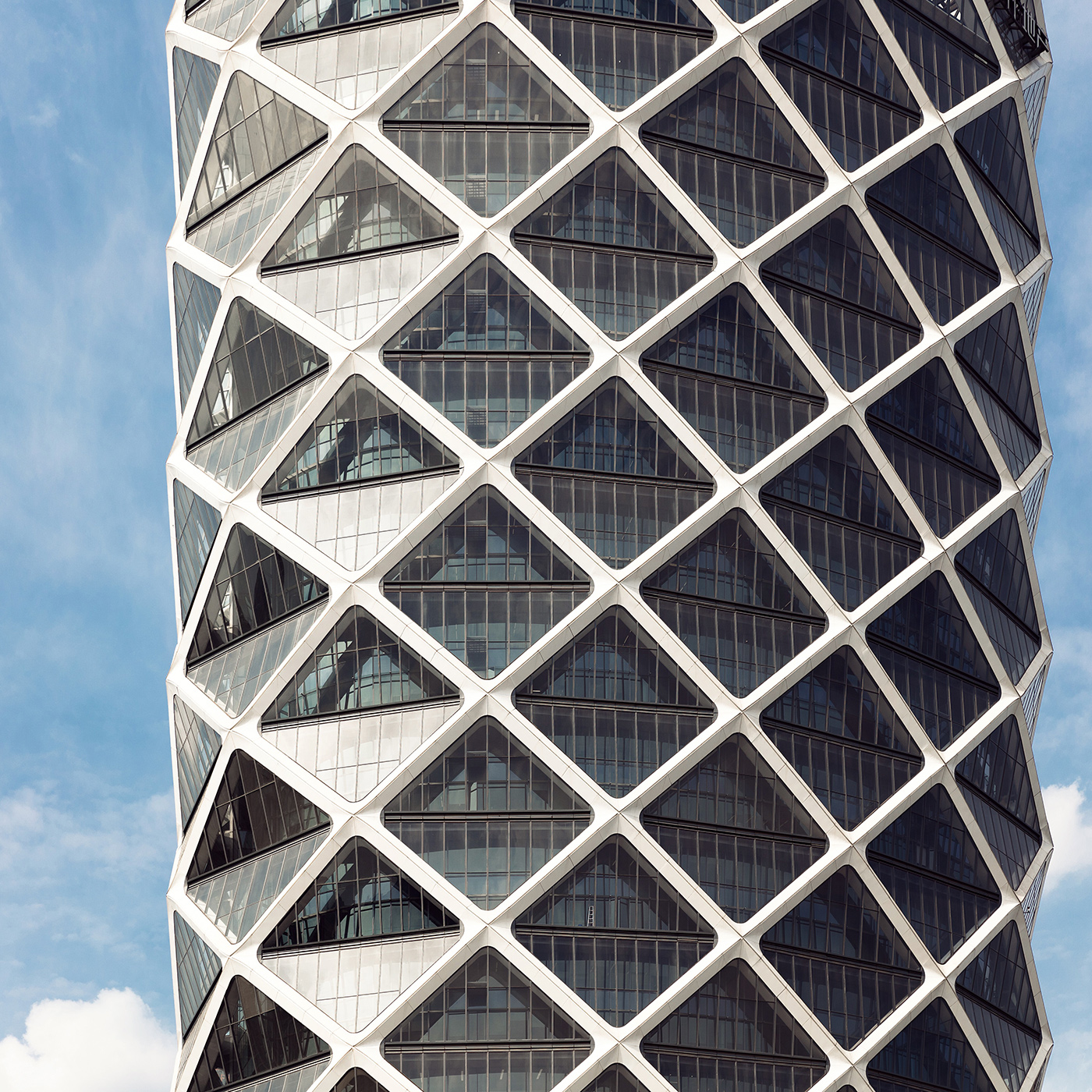 Poly International Plaza . Location: Beijing, China . Architect: Skidmore, Owings & Merrill