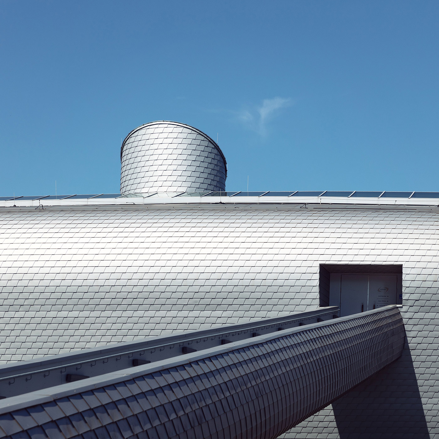 Les Thermes . Location: Strassen, Luxembourg . Architect: Jim Clemes Associates
