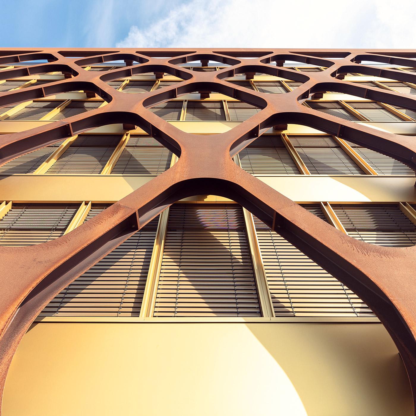 Office Building KPMG . Location: Luxembourg City, Luxembourg . Architect: Valentiny hvp architects