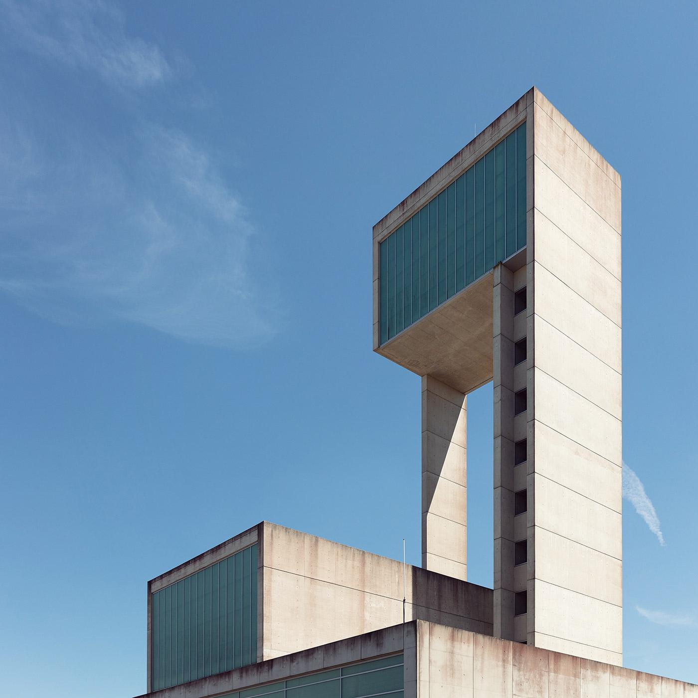 Water Tower . Location: Leudelange, Luxembourg . Architect: SchemelWirtz Architectes Associès, Schroeder & Ass.