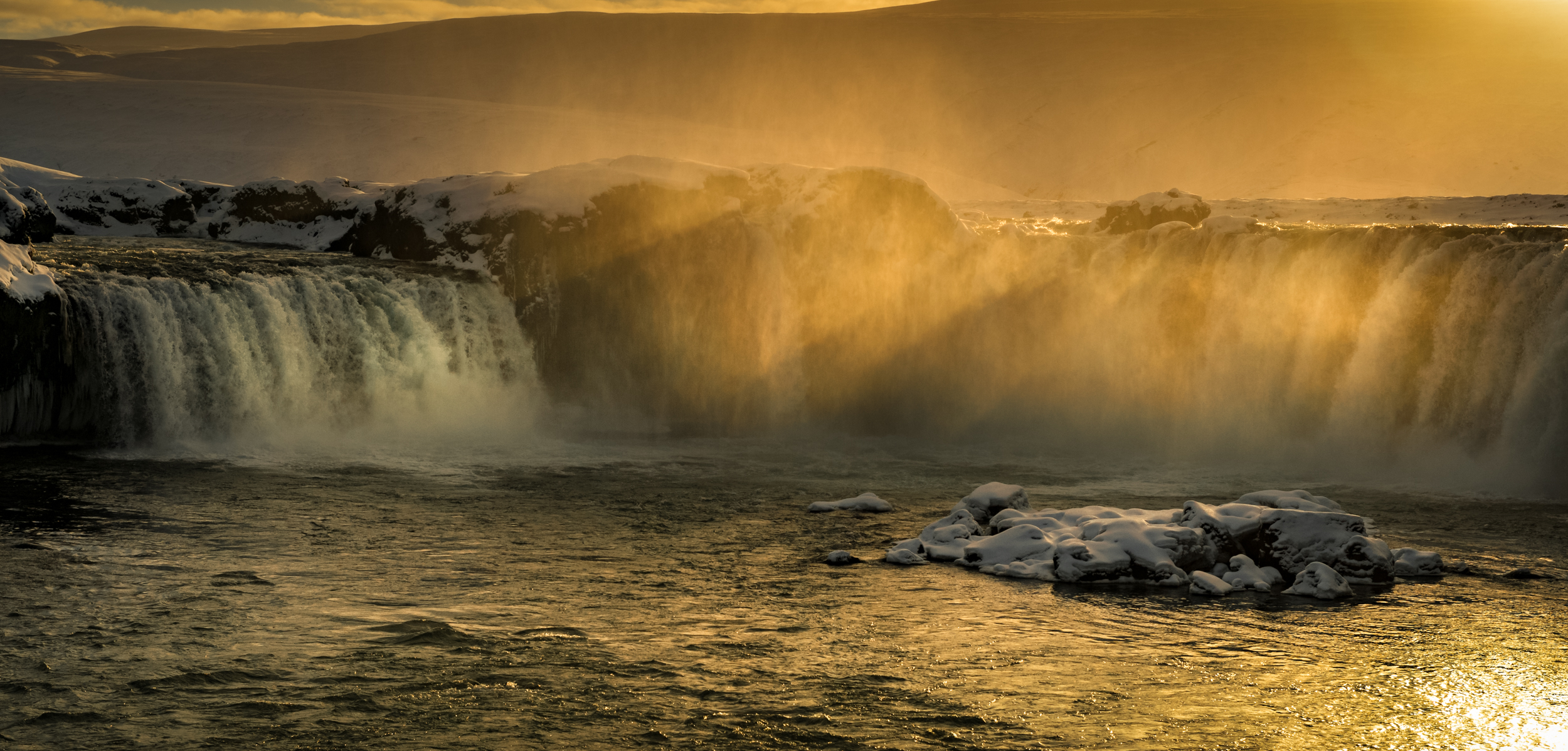 "Godafoss - ""Waterfall of the Gods"""