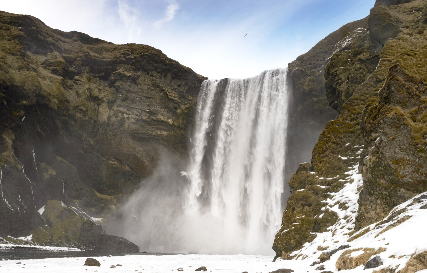 "Skogafoss has been used in the film ""Prometheus"""