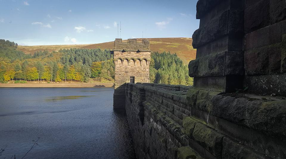 Derwent Dam - Dams in areas as this were great practice for the Sq.617