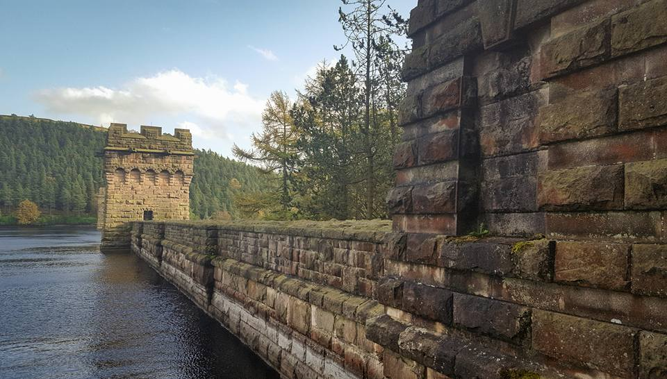 Howden Dam - This Gothic dams celebrations upon completion, were halted due to the First World War.
