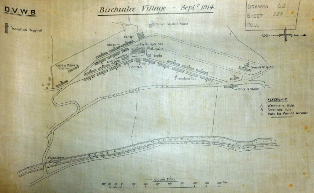 "An insight into the ""Tin Town"" plans which were drawn up by the D.V.W.B"