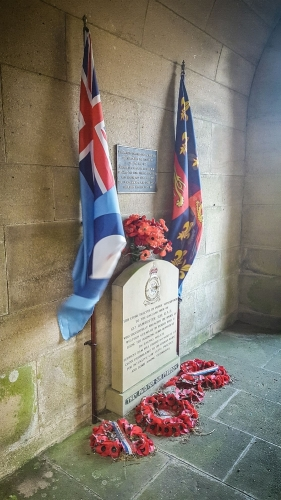 The well respected RAF squadron 617 Memorial - A tribute to the brave souls risking life and limb for our freedom