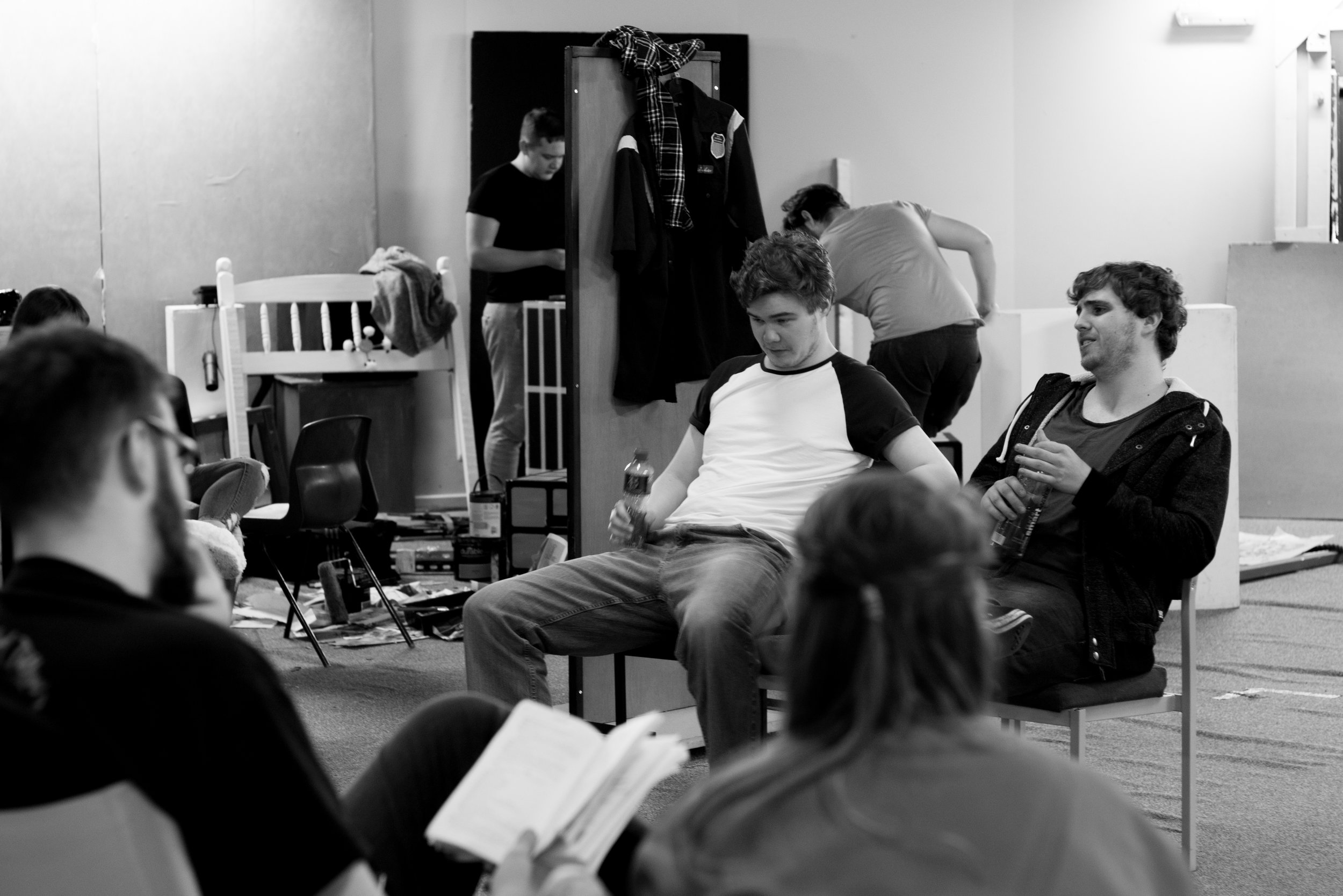 Killer Joe - The rehearsals