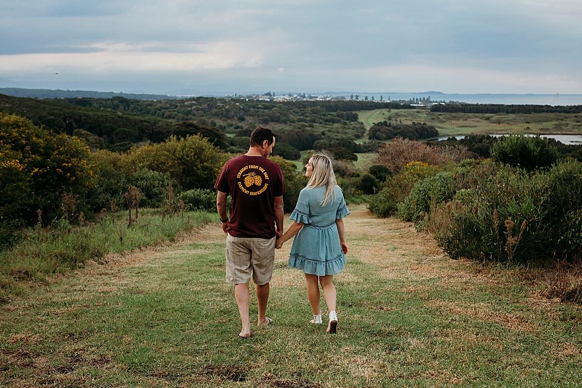 Mum and Dad walking
