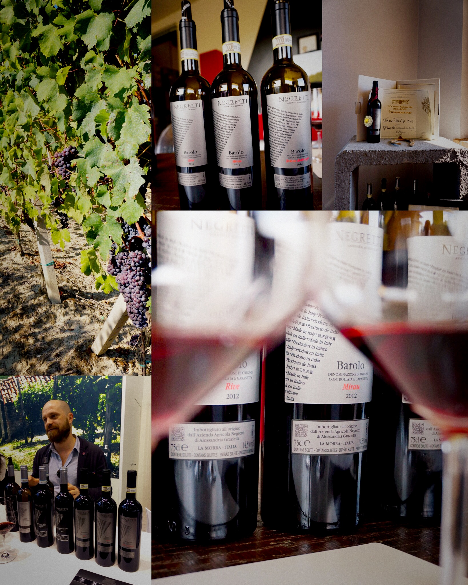 Negretti Barolo -Vertical Tasting (multiple vintages) - At French Table