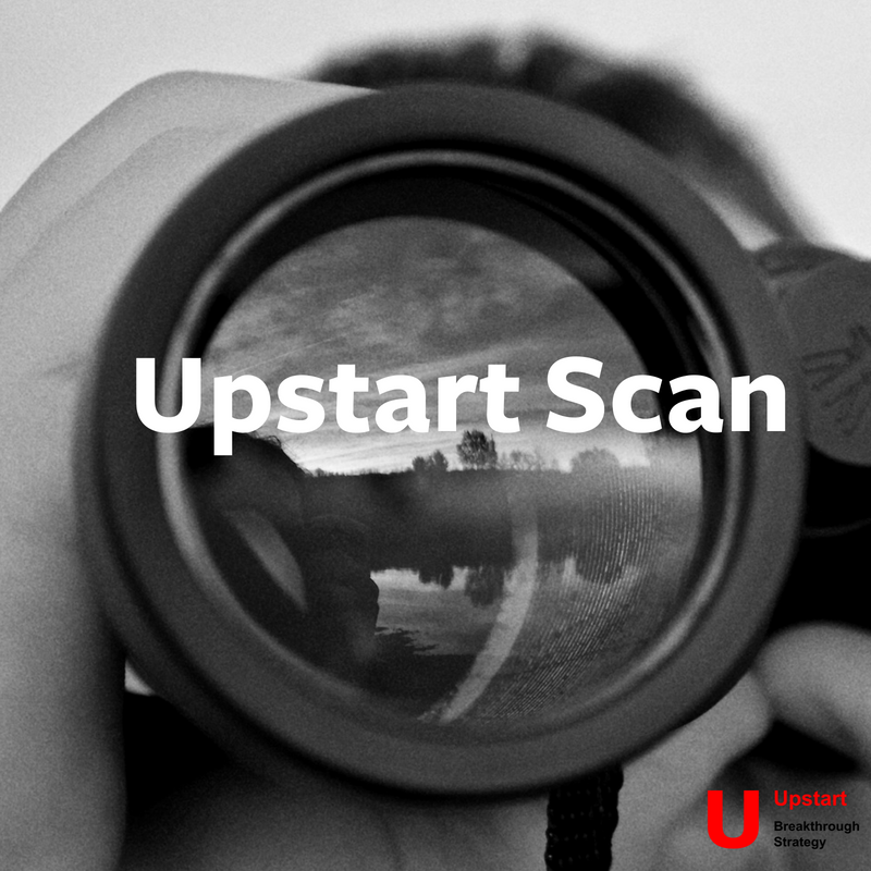 Upstart Scan - Upstart Scan helps you get a clear picture of fast-moving companies in your sector or other industries. We blend search technology with deep sector knowledge to find and qualify partners for your investment, business collaboration or strategic business partnership goals.