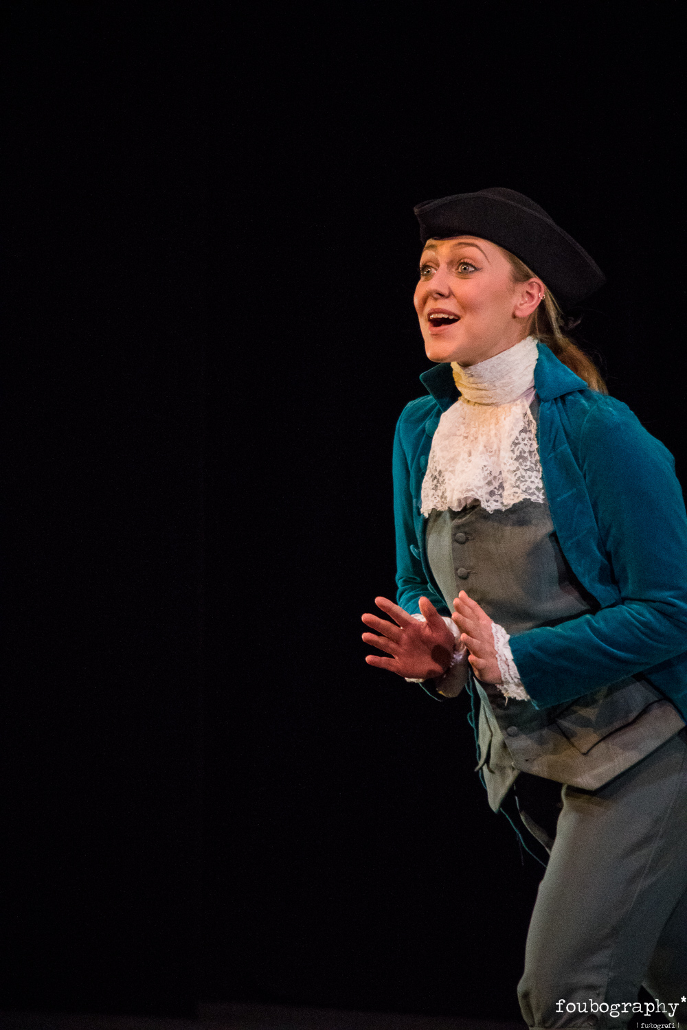 Naomi Rogers  as Cherubino Naomi is a fourth-year undergraduate mezzo-soprano from Suffolk currently under the tutelage Sandra Dugdale at the RNCM.