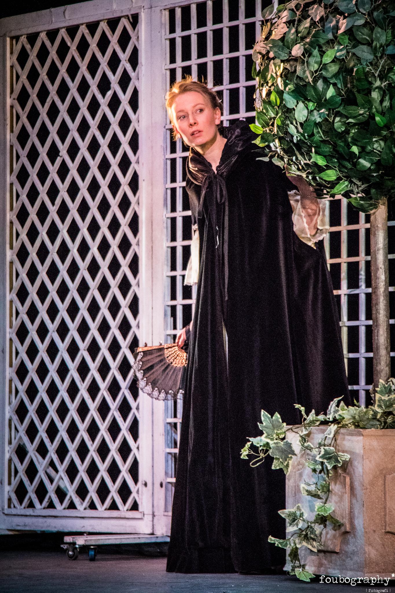 Stella Tahtinen as Susanna Stella is a soprano currently under the tutelage Sarah Rhodes at the RNCM.