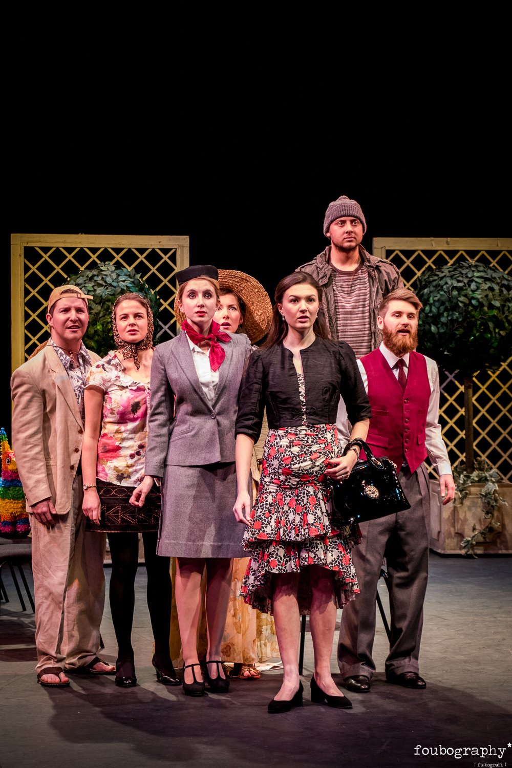 The cast of  Flight  (OS)  @Royal Northern College of Music - Opera Photography - 2018_