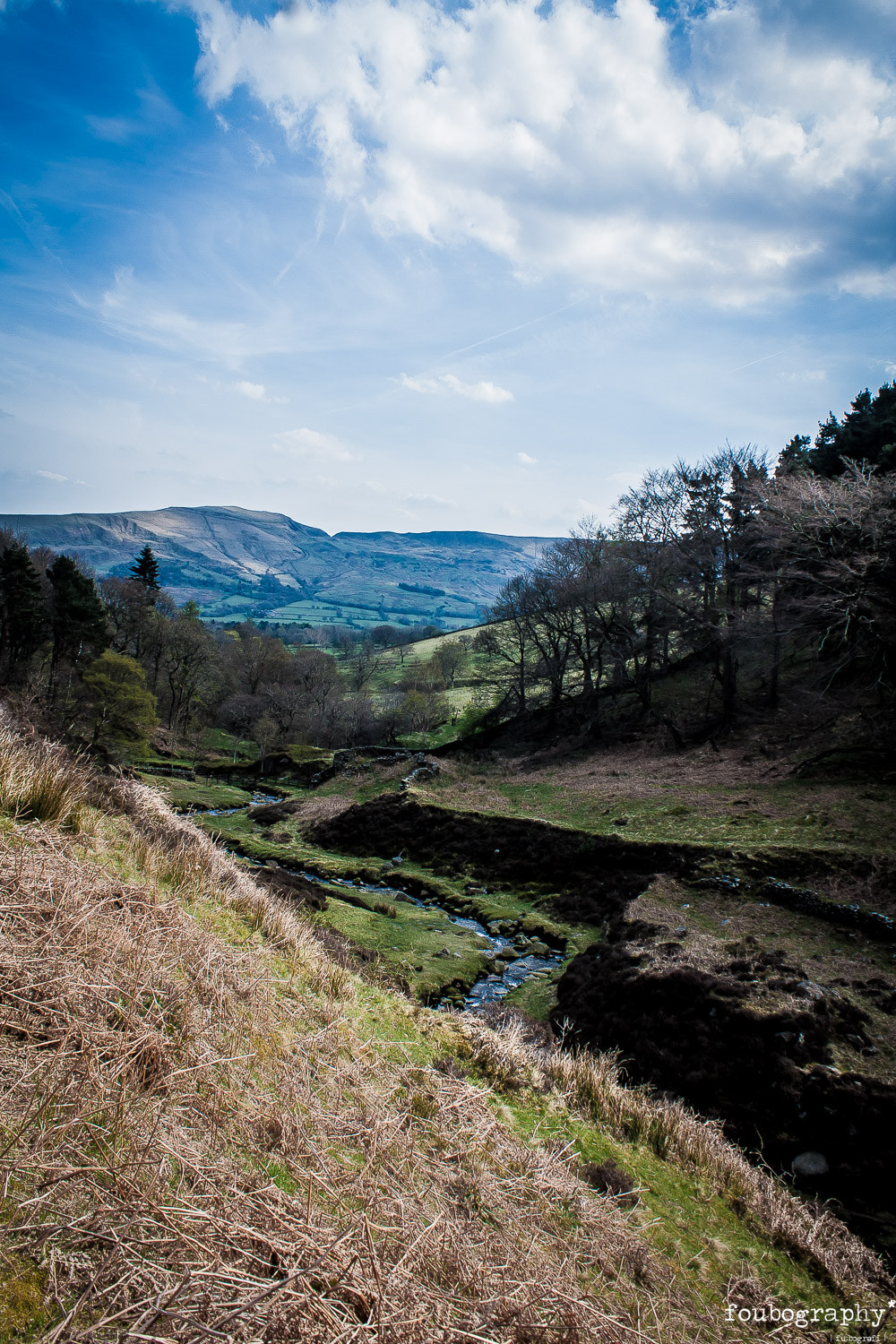 A view into Edale Valley   @The Peak District (UK) - Nature Photography - 2016_