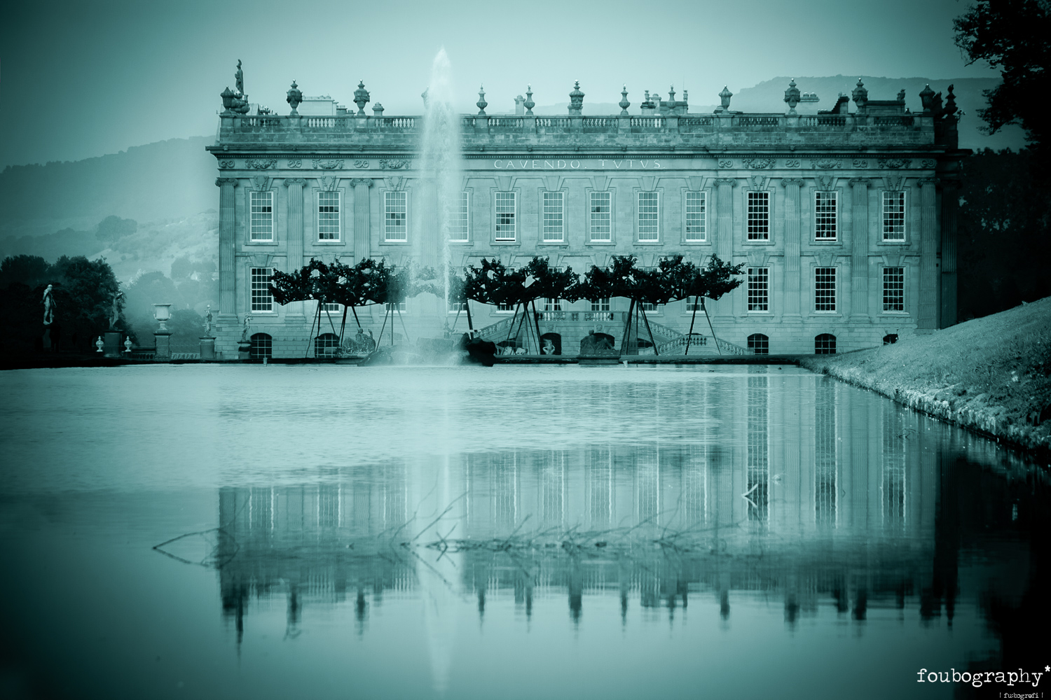 Backdrop for  Turn of the Screw   @Chatsworth House - Opera Photography - 2017_