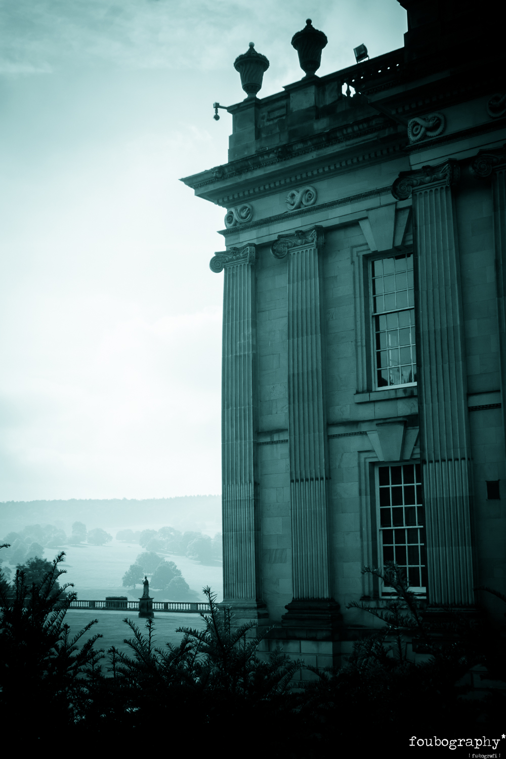 Backdrop for The Turn of the Screw   @Chatsworth House (UK) - Opera Photography - 2016_