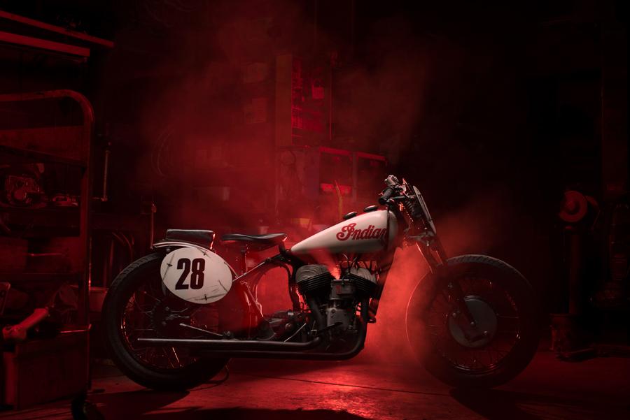 Vintage Indian Race Bike