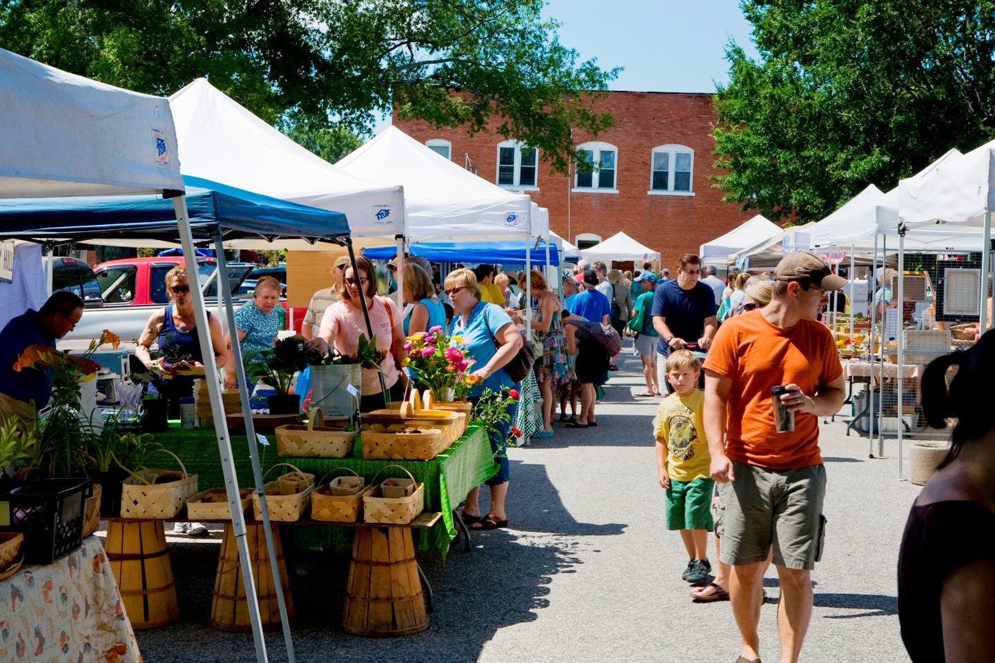 Wake Forest offers many community festivals, art showings, garden and historic home tours, special events and a thriving farmers market.  —VIEW —