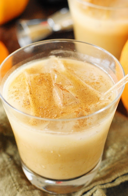 Pumpkin Spice White Russian - Image + Recipe: A Tracey creation